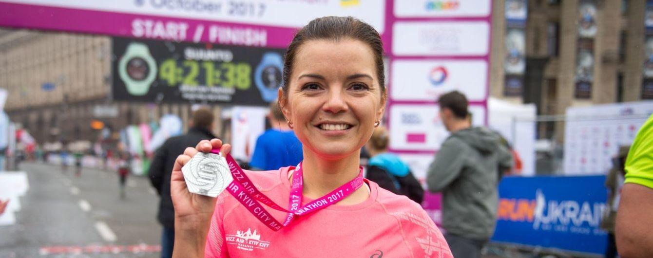 Марічка Падалко підкорила перший у житті 42-кілометровий марафон