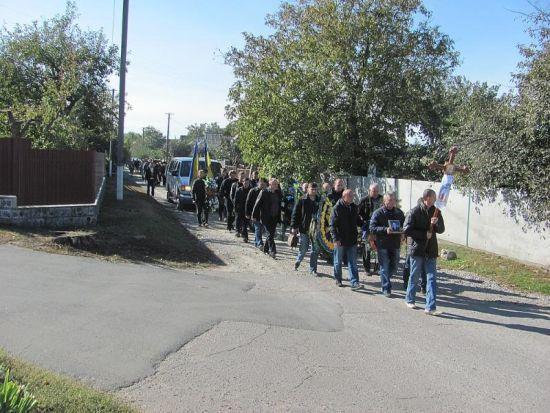 На Черкащині поховали рятівника, якого три роки тому викрали бойовики в Донецьку