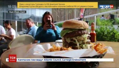 Ресторан в Нью-Йорке открещивается от бургера в честь Путина