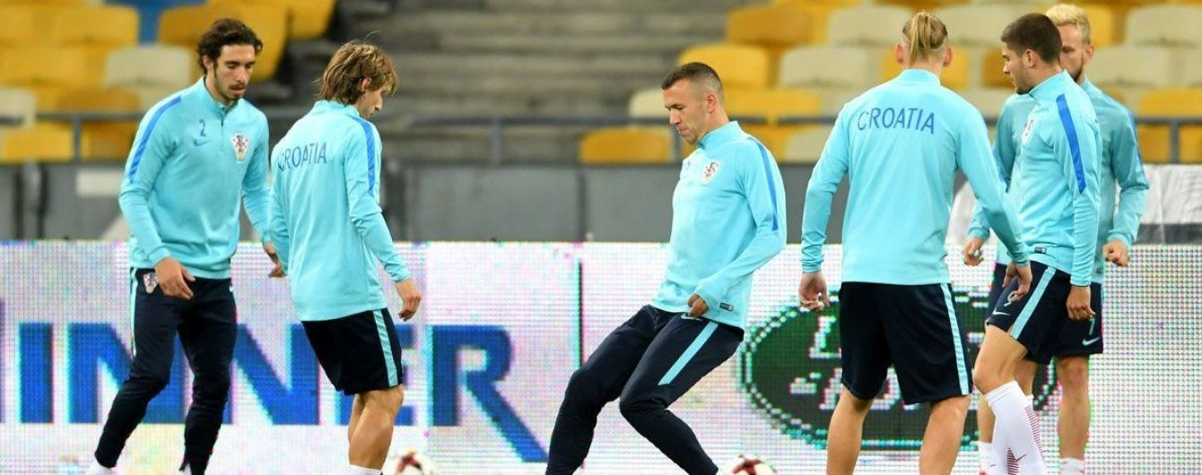 Сборная Хорватии объявила заявку на матч против Украины