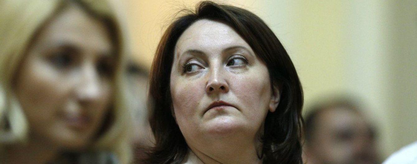 Корчак получила более 200 тысяч грн зарплаты, из которых половина – на оздоровление