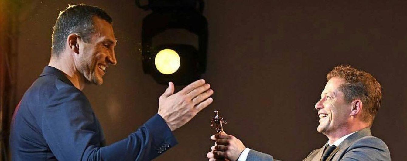 Братьев Кличко наградили в Германии за боксерские достижения