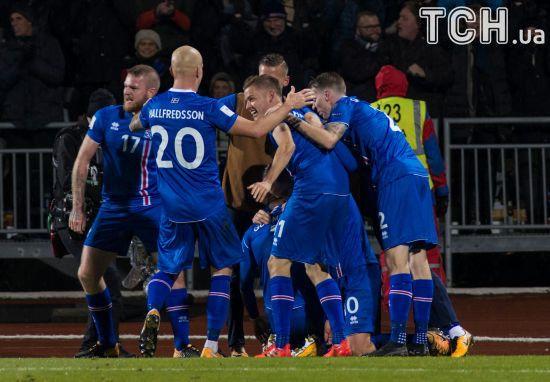 Збірна Ісландії поїде на ЧС-2018 в Росію, а влада країни ще думає