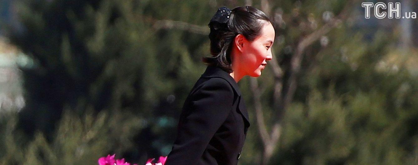 ЗМІ повідомили, які питання зможе вирішувати сестра лідера КНДР на новій високій посаді
