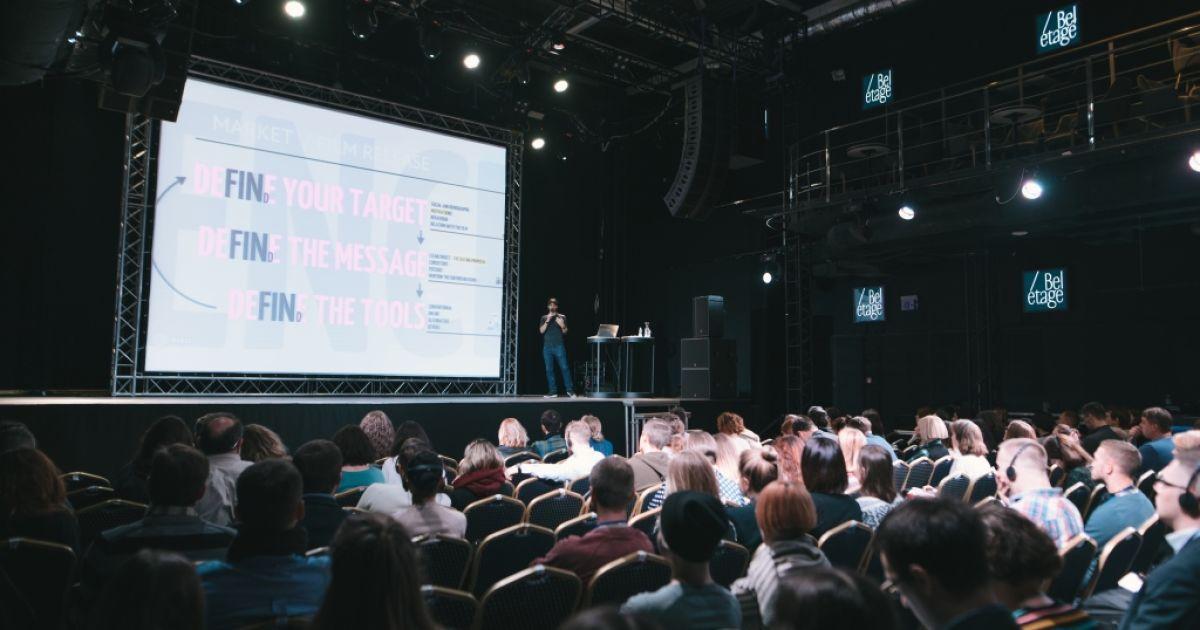 Учасники тренінгу з інноваційного маркетингу та методам дистрибуції кіно