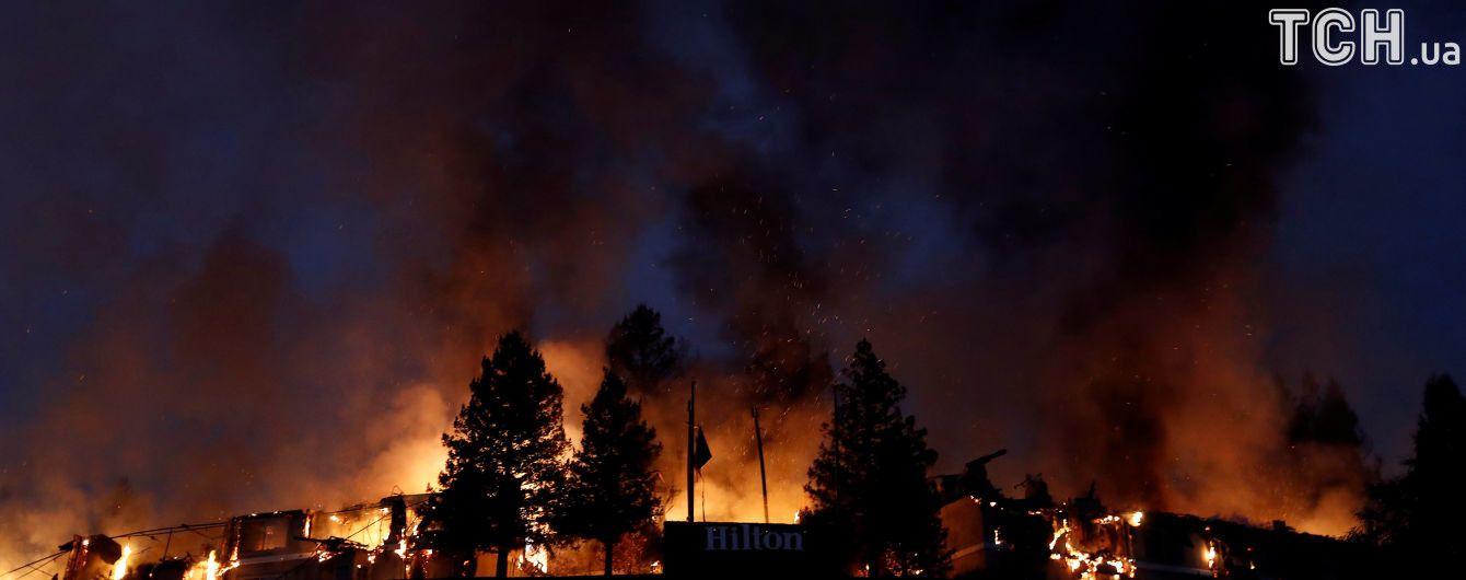 В Калифорнии возросло количество жертв масштабного пожара
