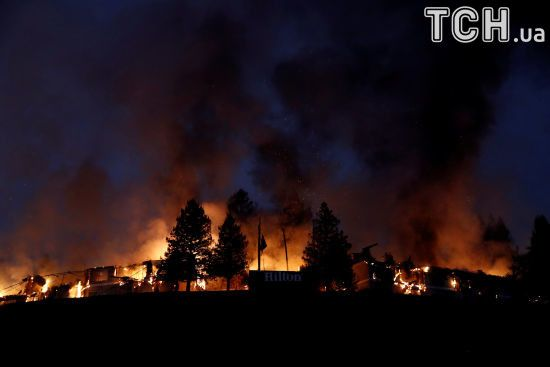 Кількість жертв лісових пожеж у США знову зросла