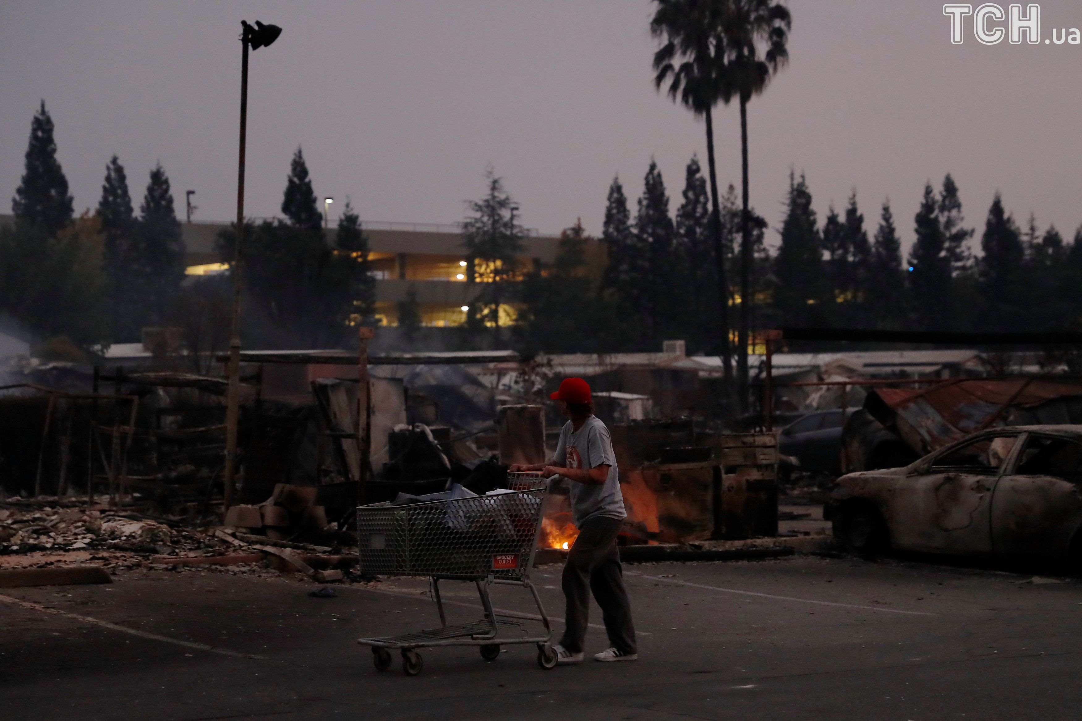Пожежа у Каліфорнії, місто Санта-Роза