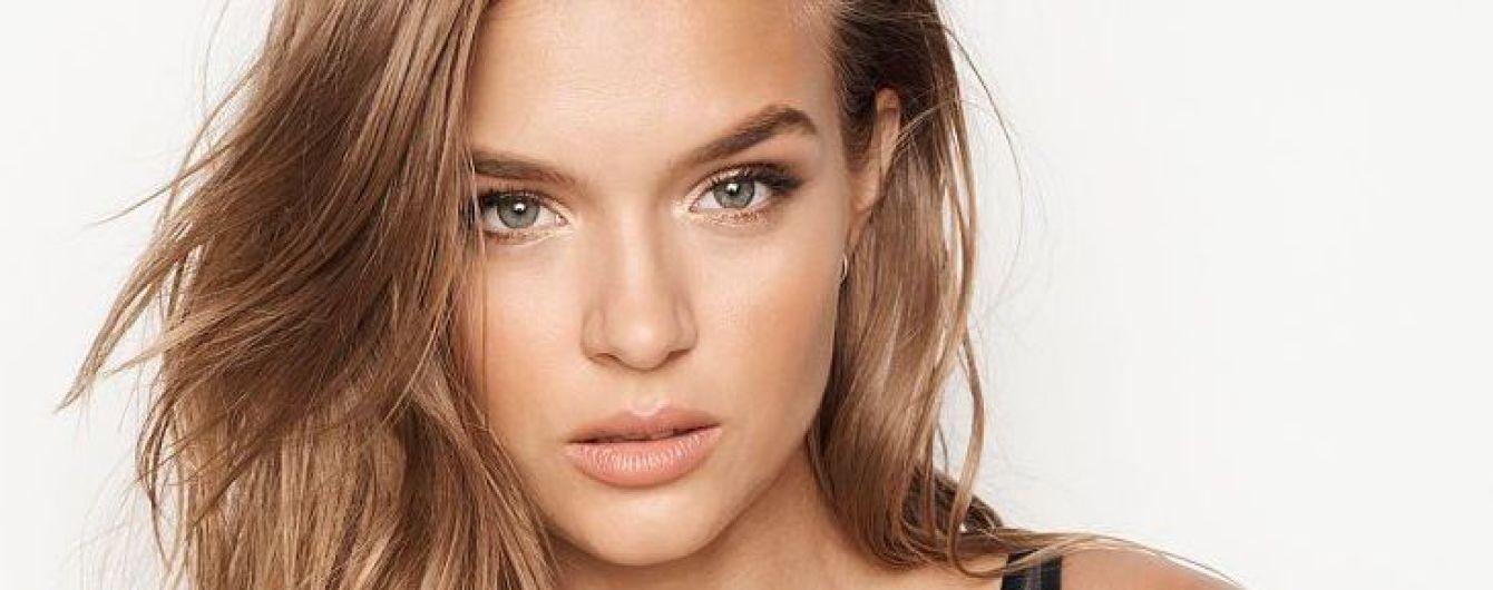"""""""Ангел"""" Жозефин Скривер блеснула роскошной фигурой в рекламе новинок от Victoria's Secret"""