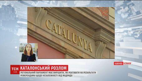 Решающий день для Каталонии. Парламент должен решить, провозглашать ли независимость