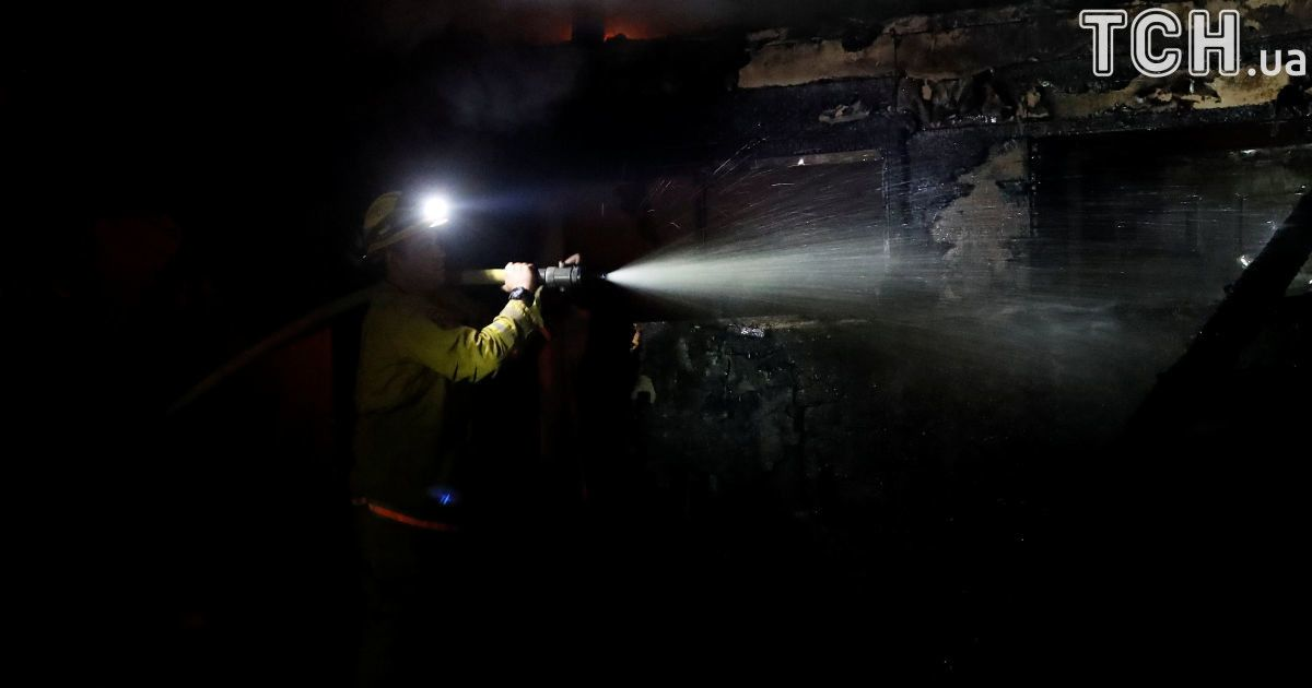 Огненная стихия пожирает Калифорнию. Регион страдает от масштабных лесных пожаров