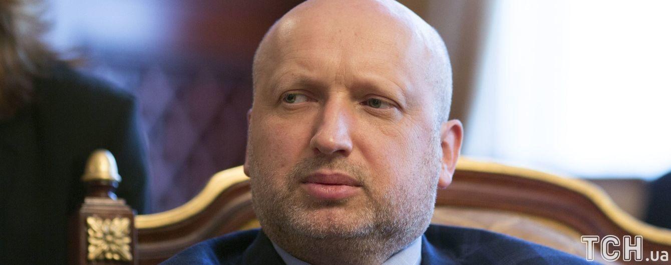 СНБО продублирует санкции США против России – Турчинов