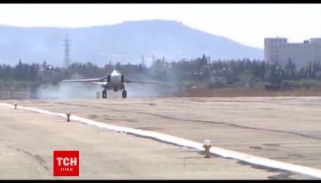 Російський військовий літак розбився в Сирії