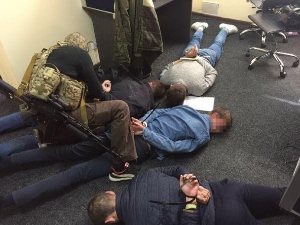 СБУ задержала вКиеве банду «коллекторов»