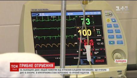 Від початку року вже 20 людей на Львівщині отруїлись грибами