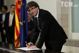 Суд в Іспанії скасував міжнародний ордер на арешт Пучдемона
