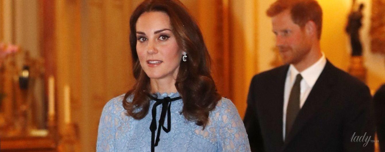 Образ в деталях: первый выход герцогини Кембриджской после объявления о беременности