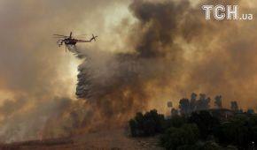 Вогняна стихія пожирає Каліфорнію. Регіон потерпає від масштабних лісових пожеж