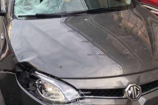 В Киеве на Оболони иномарка насмерть сбила девушку на пешеходном переходе