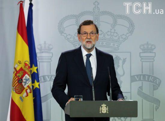 Прем'єр-міністр Іспанії оголосив про розпуск уряду і парламенту Каталонії