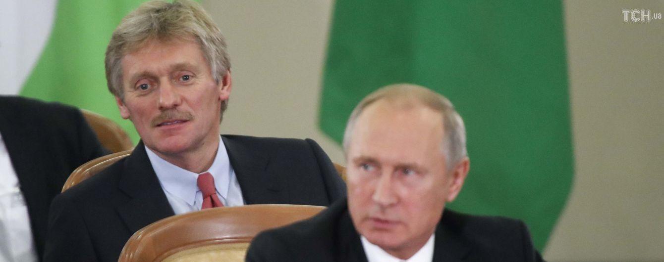 Песков иногда несет пургу – Путин