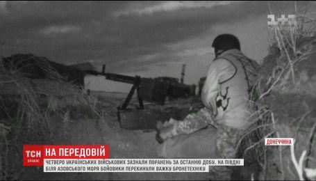 Огонь оккупантов ранил украинских военных на фронте