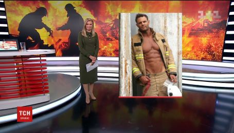 Пожарные снялись в откровенной фотосессии для календаря на следующий год