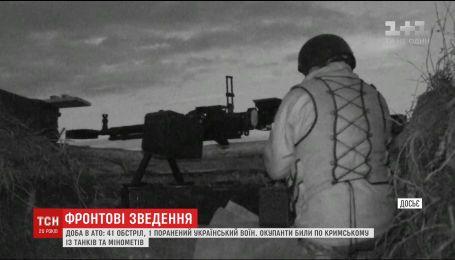 Штаб АТО повідомив про раптову активізацію бойовиків на Донбасі