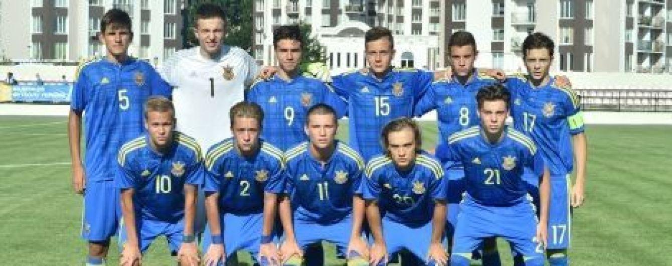 Юношеская сборная Украины вдесятером разгромила Болгарию