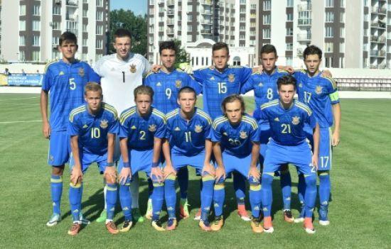 Юнацька збірна України вдесятьох розгромила Болгарію