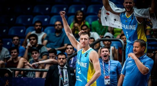 Сборная Украины по баскетболу вошла в топ-20 мирового рейтинга