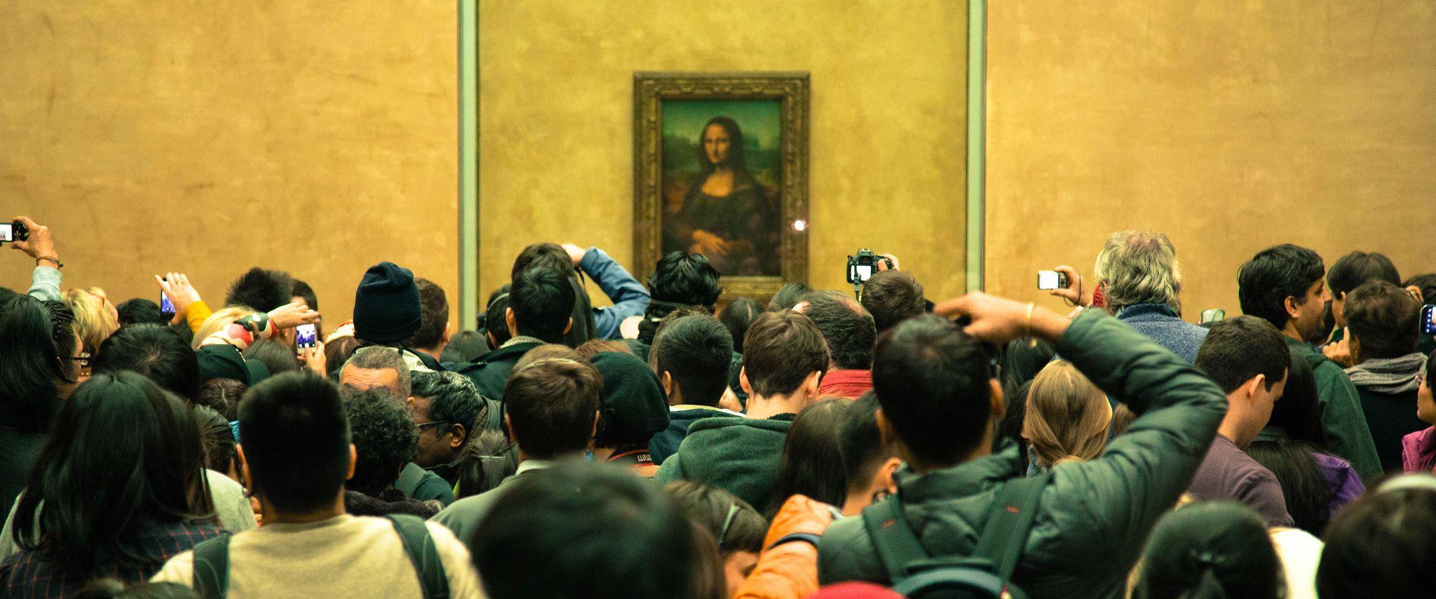 Картина Мона Ліза, Лувр