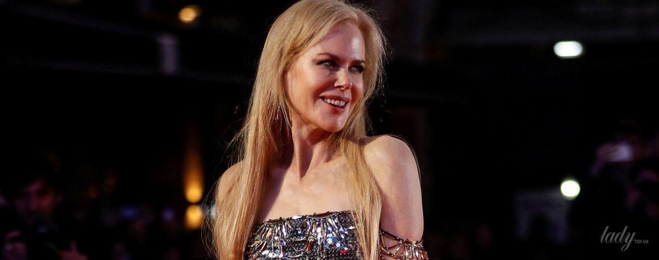 В эффектном платье с пайетками: роскошная Николь Кидман на кинофестивале в Лондоне