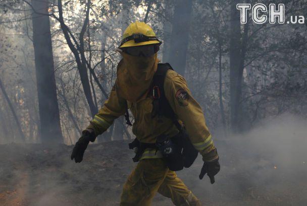 Наиболее смертоносные пожары в Калифорнии унесли жизни уже 31 человека