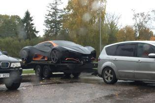 """У Латвії """"засвітився"""" перший український суперкар за 700 тисяч євро"""