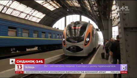 В украинских поездах появится ночное меню
