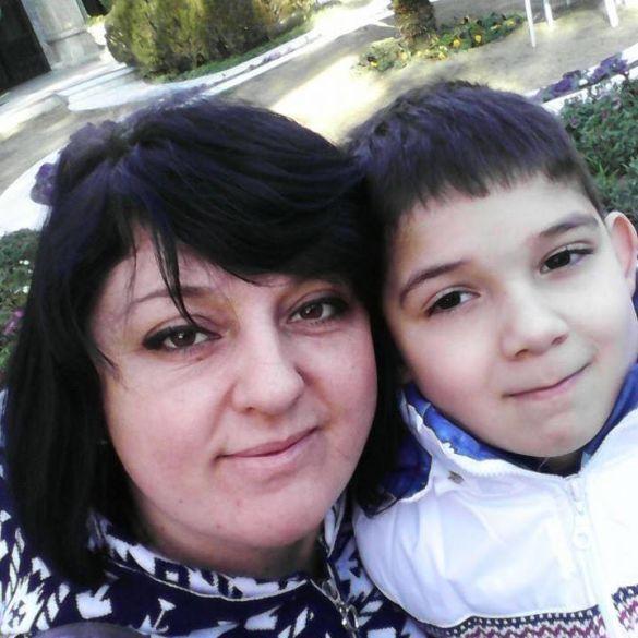 Юлія Стрільчук з сином