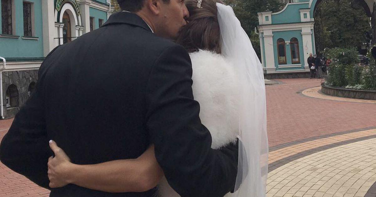 Джеджула повінчався із Леус @ facebook.com/andrey.djedjula.3