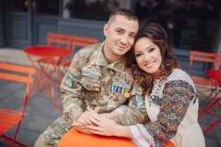 Наталка Карпа записала песню с мужем-героем АТО