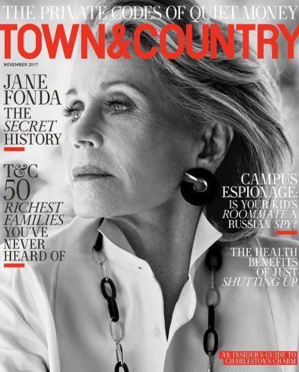 Джейн Фонда в Town & Country