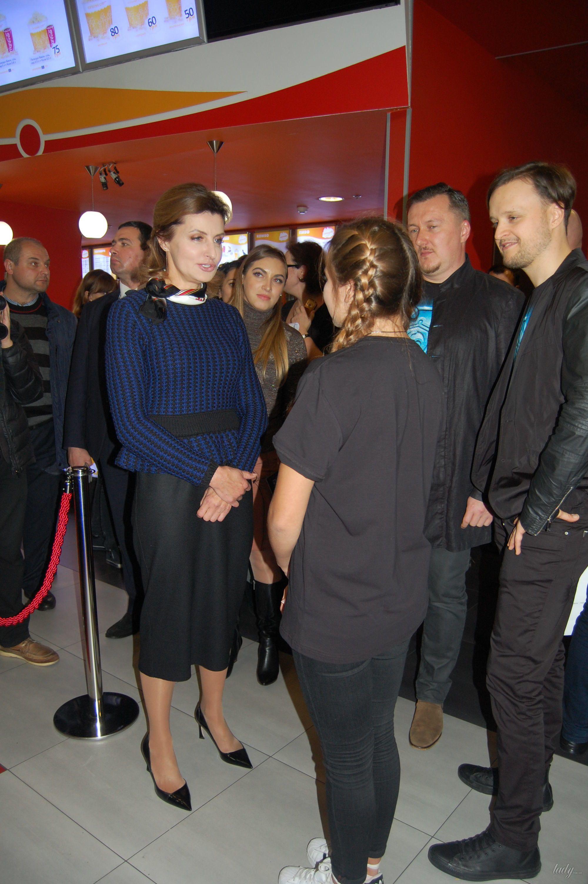 """Марина Порошенко на премьере украинского фэнтези """"Сторожевая застава""""_2"""