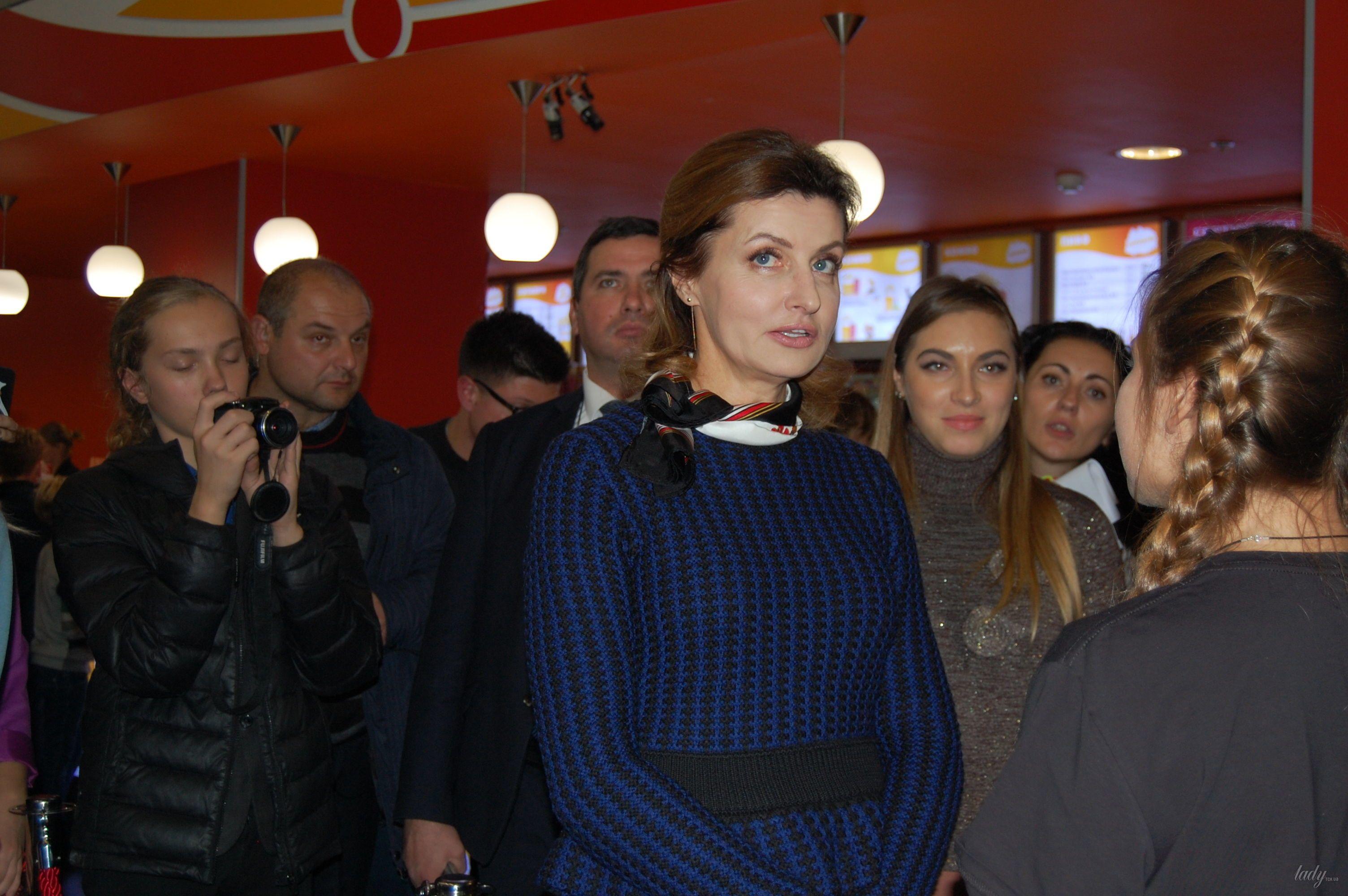 """Марина Порошенко на премьере украинского фэнтези """"Сторожевая застава""""_3"""