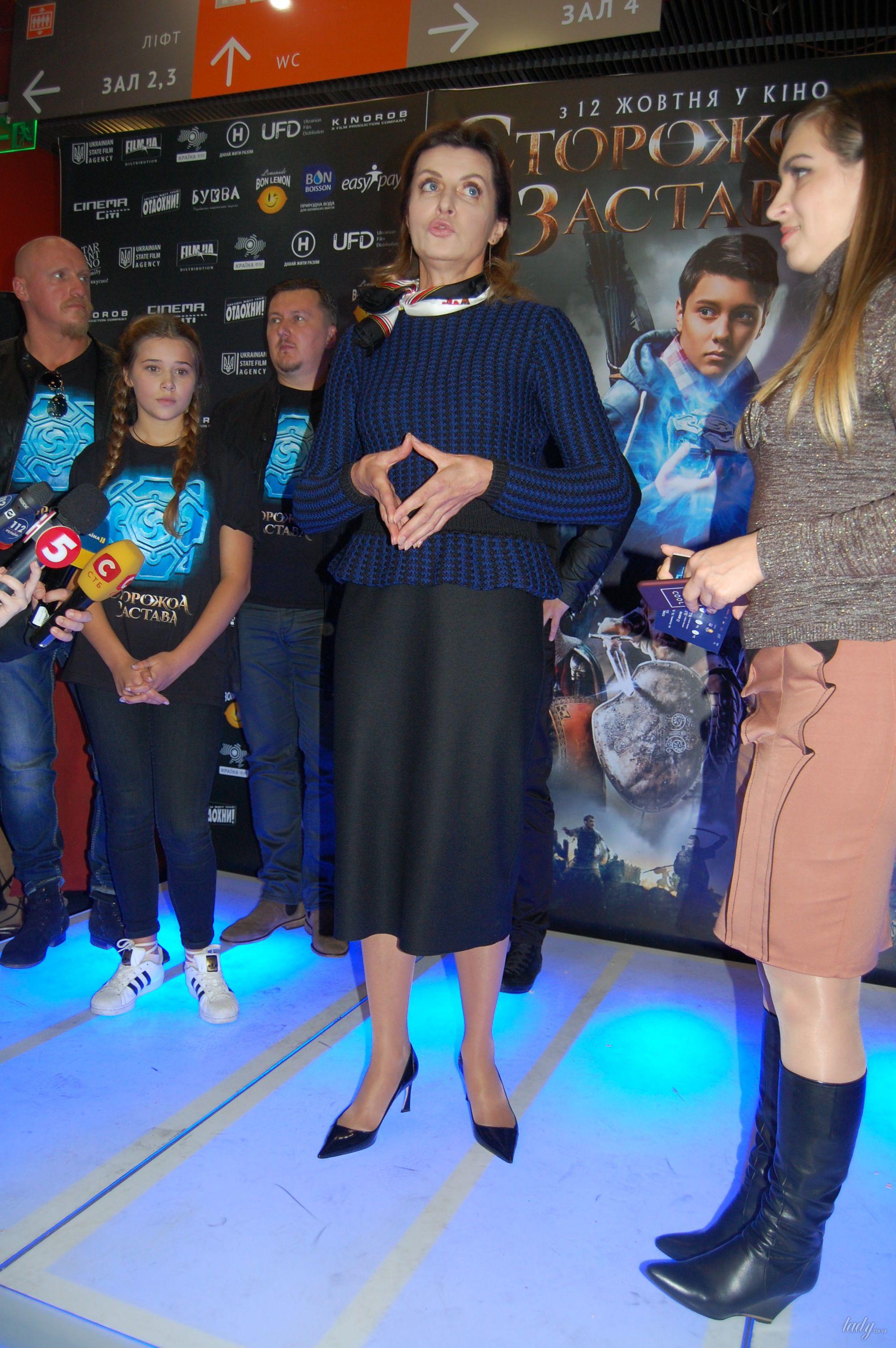 """Марина Порошенко на премьере украинского фэнтези """"Сторожевая застава""""_5"""
