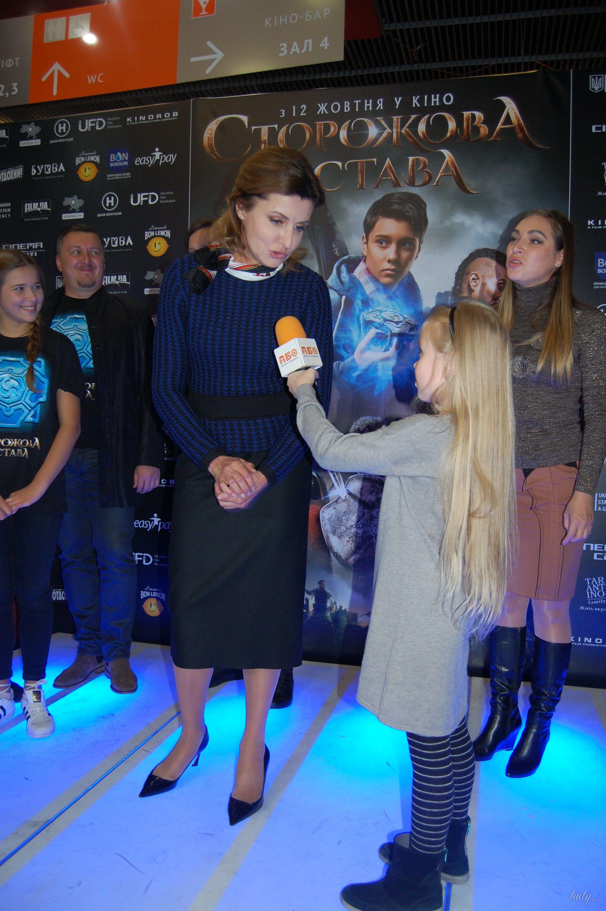 """Марина Порошенко на премьере украинского фэнтези """"Сторожевая застава""""_8"""
