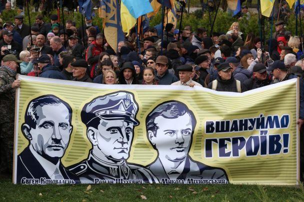 УКиєві наПокрову починається Марш Слави патріотіа