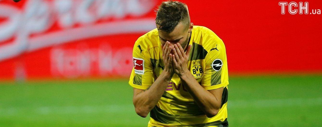 Ярмоленко отримав найгіршу оцінку за матч у Лізі чемпіонів