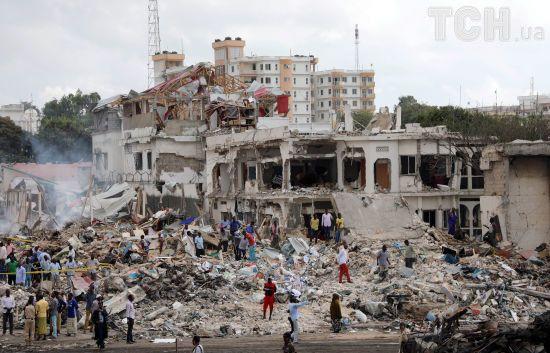 У Сомалі зростає кількість загиблих унаслідок вибуху