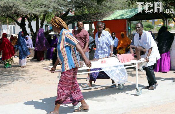 Кількість загиблих від вибуху у Сомалі зросла майже вдесятеро
