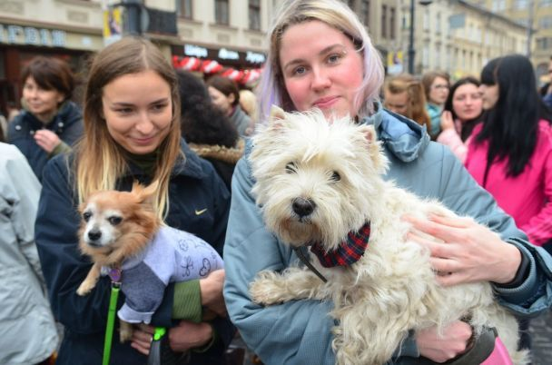 """""""Мене вбили твої розваги"""". Сотні українців вийшли на марші за права тварин"""