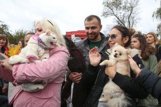 """""""Меня убили твои развлечения"""". Сотни украинцев вышли на марши за права животных"""
